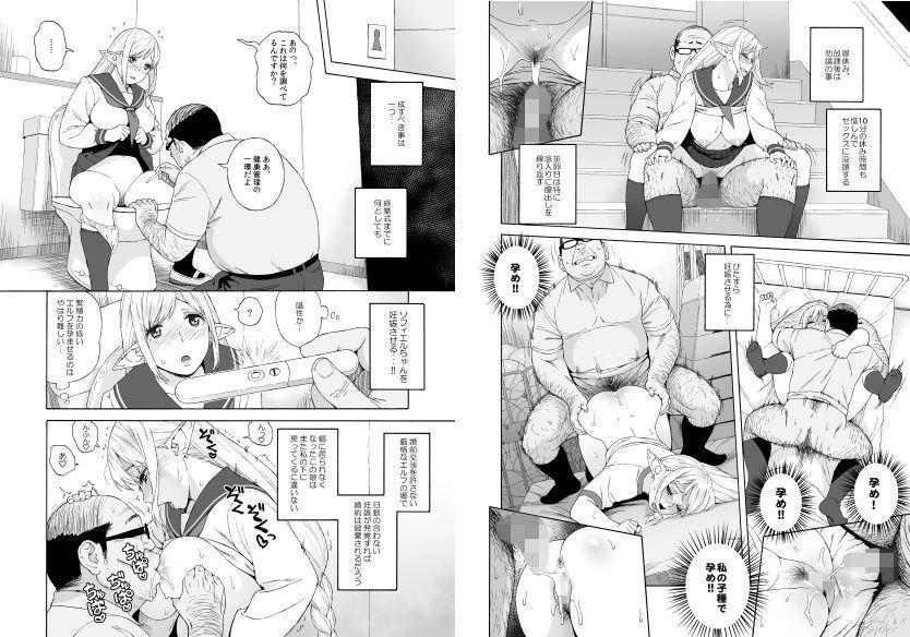 「転校生○○エルフ3最終章-放課後野外授業-」 「孕め!孕め!!私の子種で孕め!」